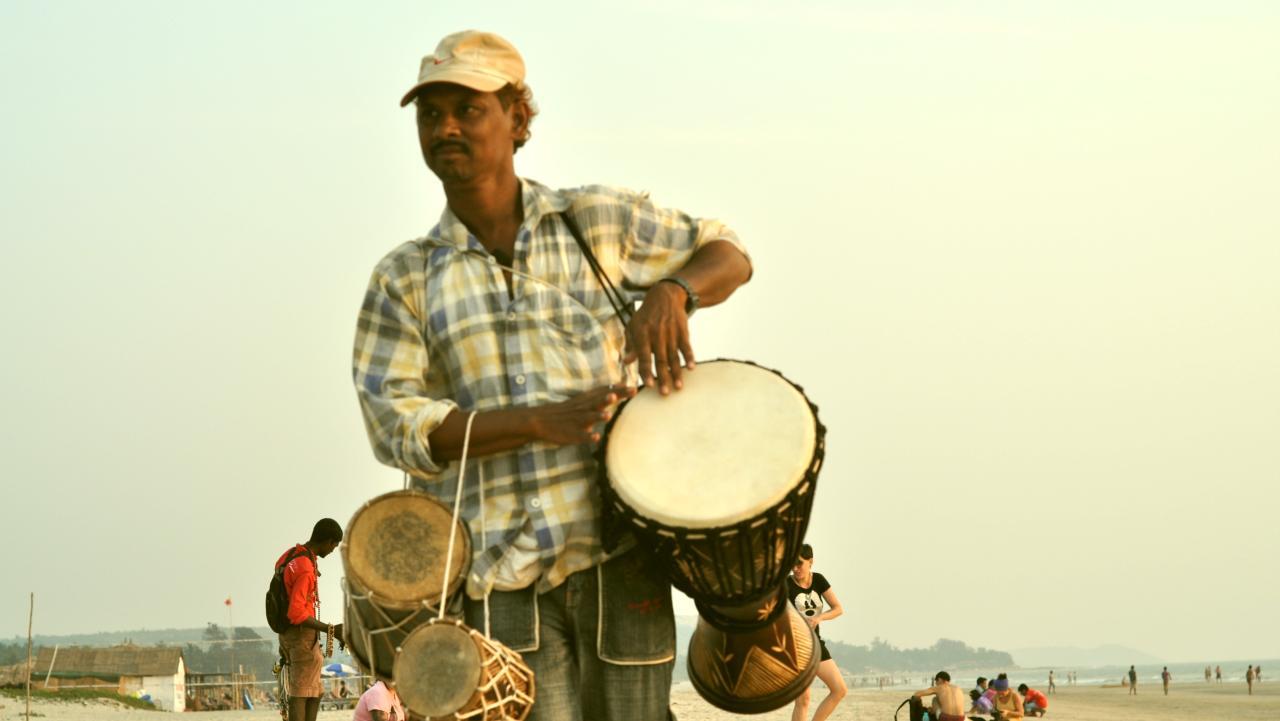 Торговец барабанами
