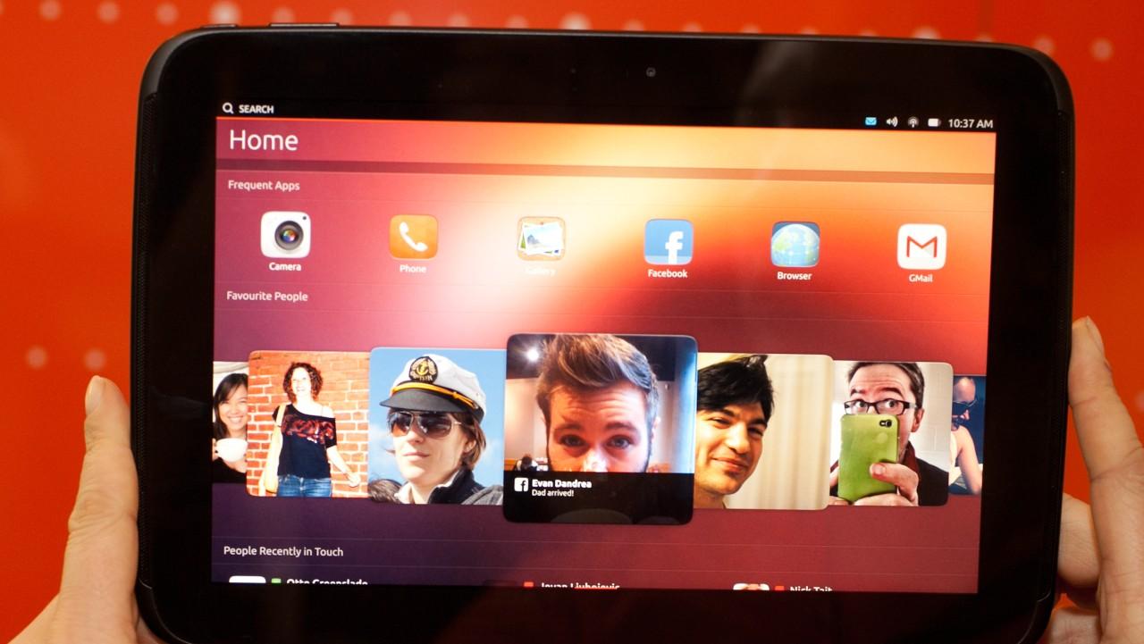 Возможно, UT One - первый  планшетный компьютер с Ubuntu