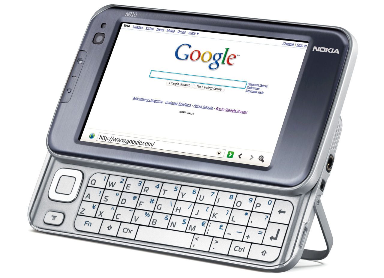 Интернет-планшет Nokia N810