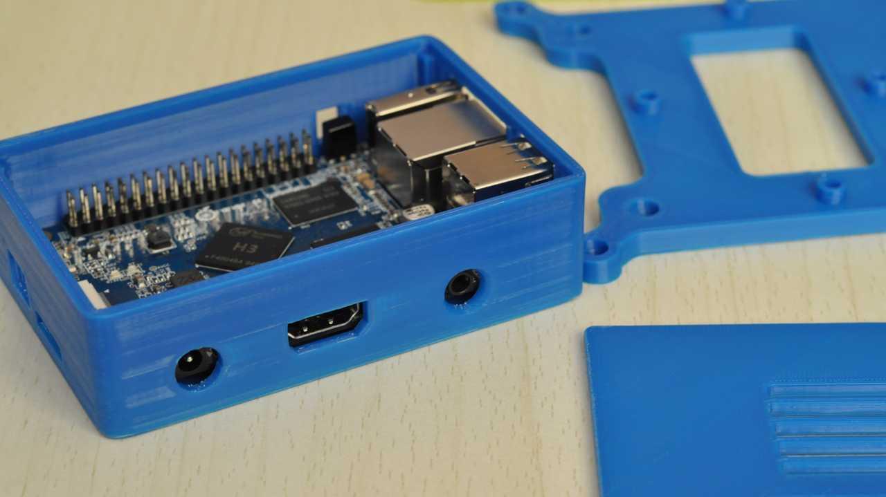 Корпус для микрокомпьютера Orange  Pi PC, напечатанный на 3D-принтере в Йошкар-Оле