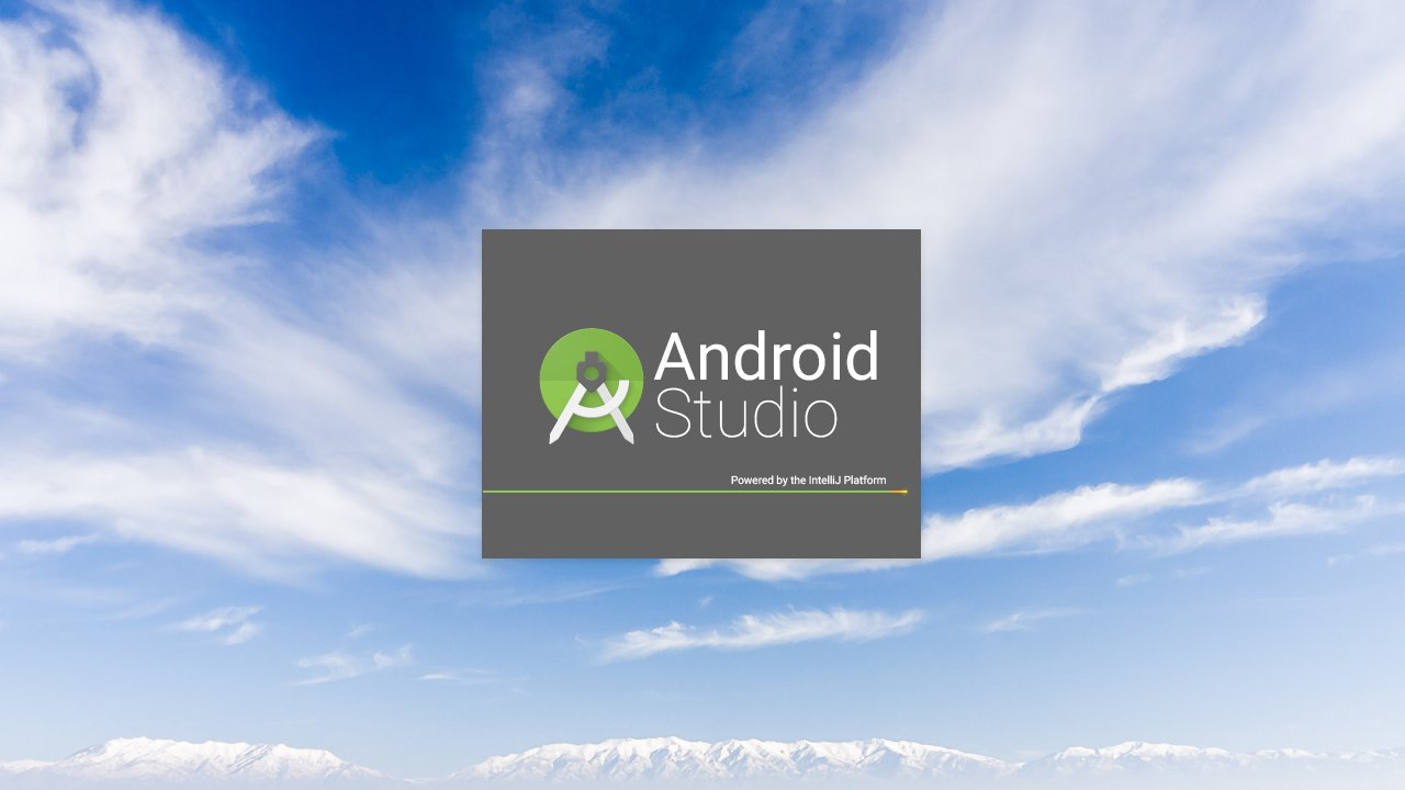 Стартовый сплэш-скрин Android Studio