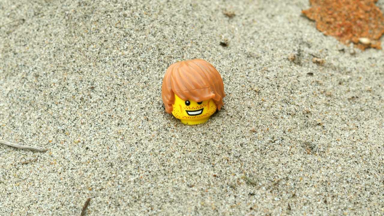 Можно зарыться по шею в песок и  ничего не делать