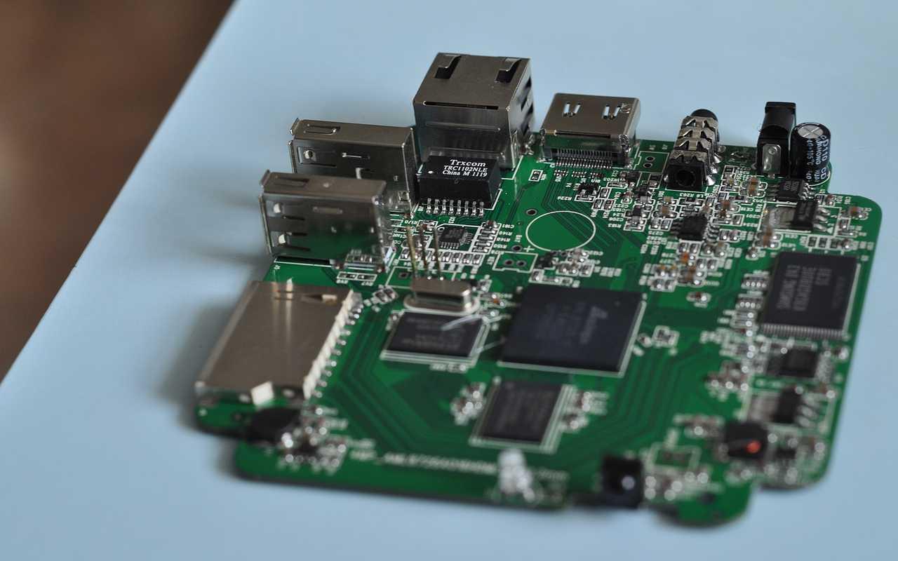 Плата медиаплеера на процессоре Amlogic