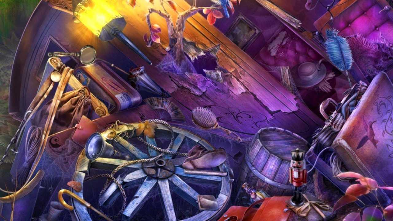 Пример  экрана HO в игре Midnight Castle